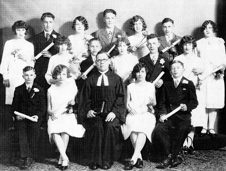 St. Pauls Evangelical and Reformed Church Confirmation Class of 1928