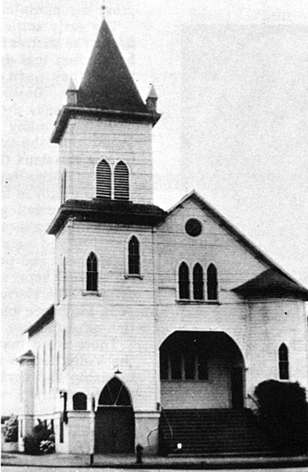 The Ebenezer German Congregational Church at NE 7th and Stanton was completed in 1904 under the leadership of Rev. Hopp.