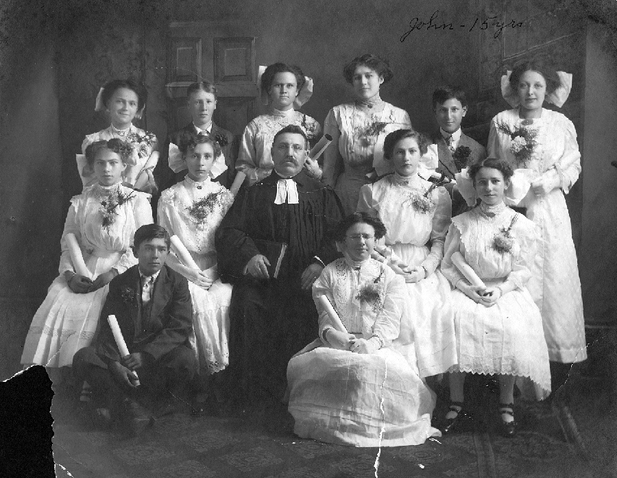 St. Pauls Evangelical and Reformed Church Confirmation Class of 1912