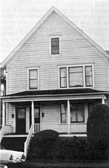 Original Ebenezer church building about 1950