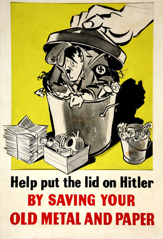 World War II Salvage Poster