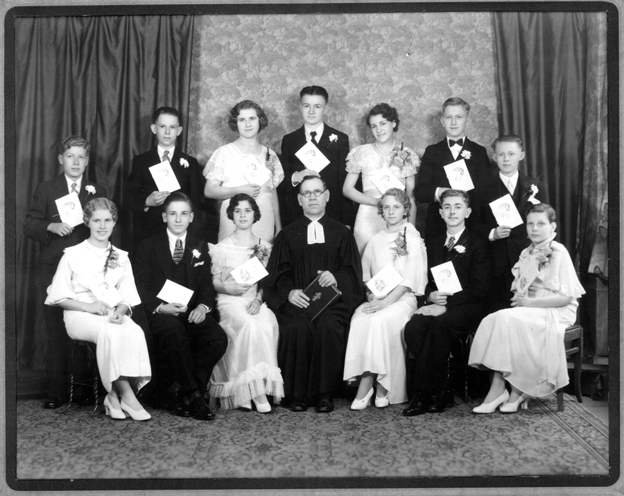 St. Pauls Evangelical and Reformed Church Confirmation Class of 1933