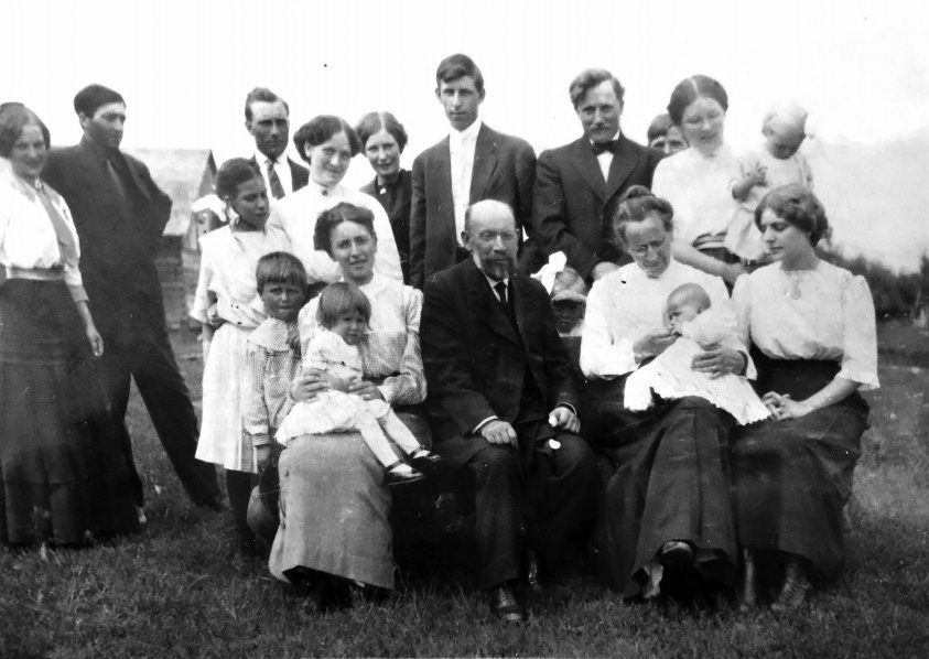 Rev. Friedrich Hoffmann family
