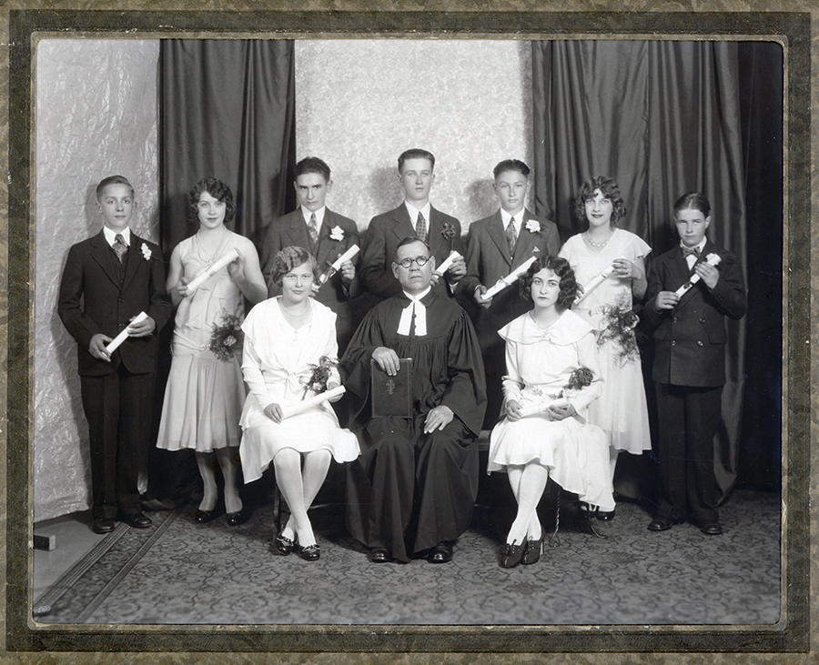 St. Pauls Evangelical and Reformed Church Confirmation Class of 1930