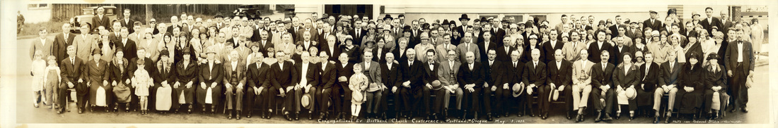 Congregational Evangelical Brethren Conference held in Portland on May 18, 1930.