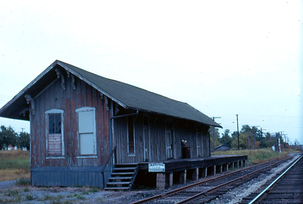 Bluffton, Ohio station