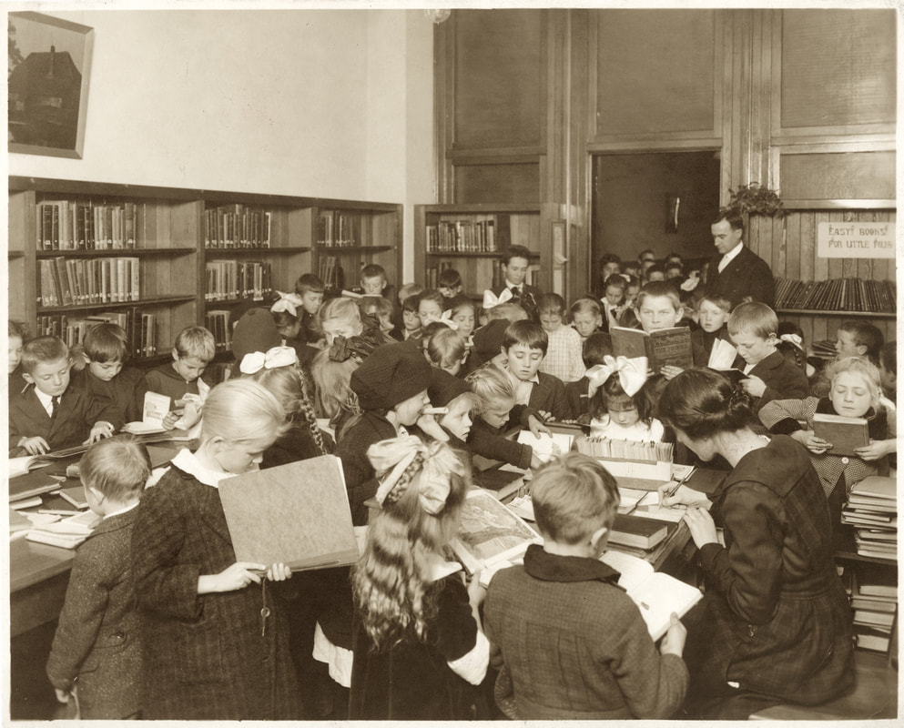Library Albina Homestead School