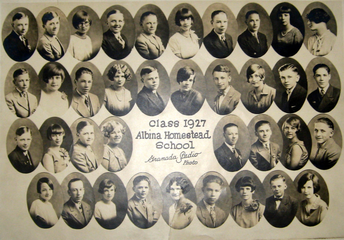 Albina Homestead School Class of 1927