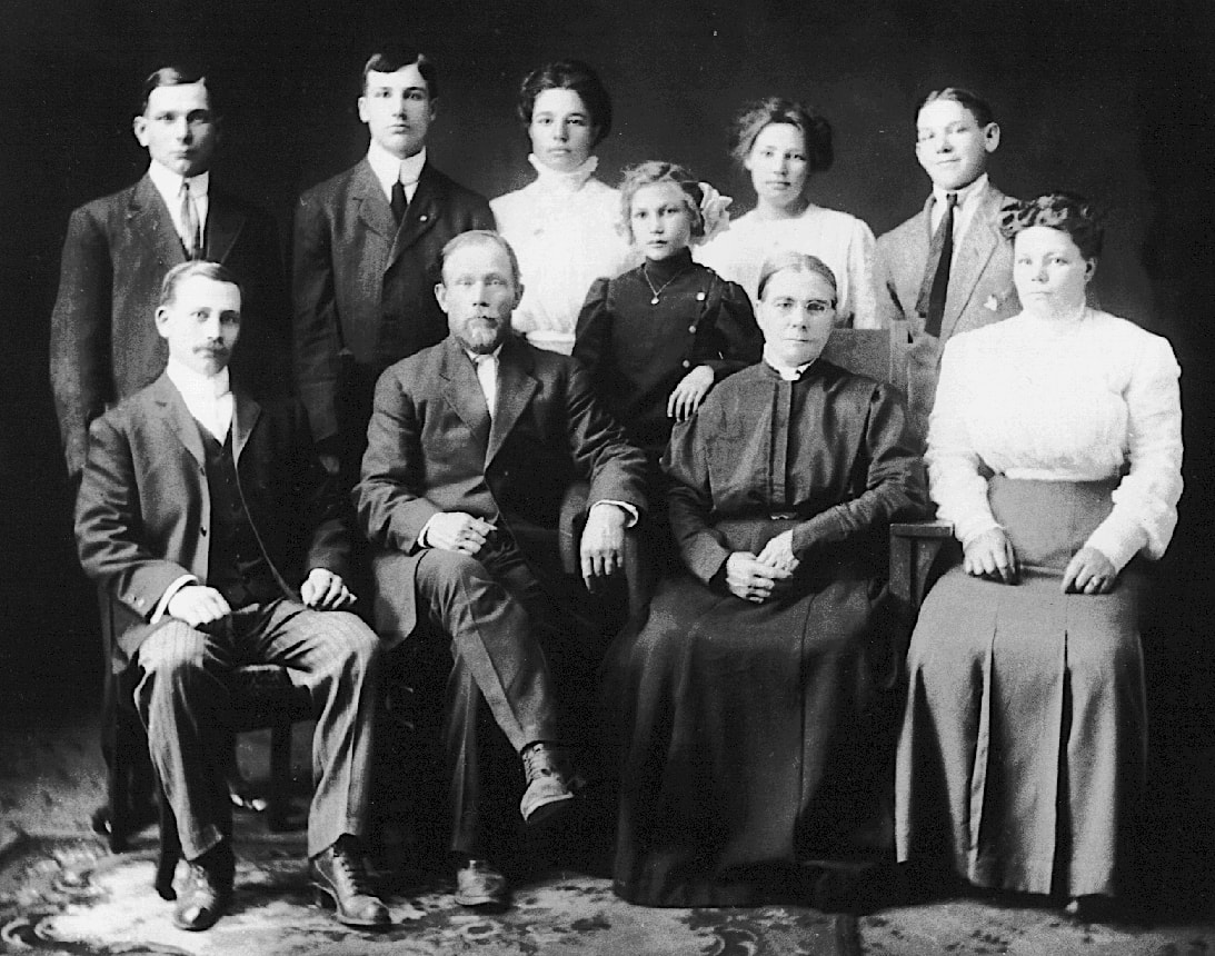 Gottlieb and Anna Marie Weber Family