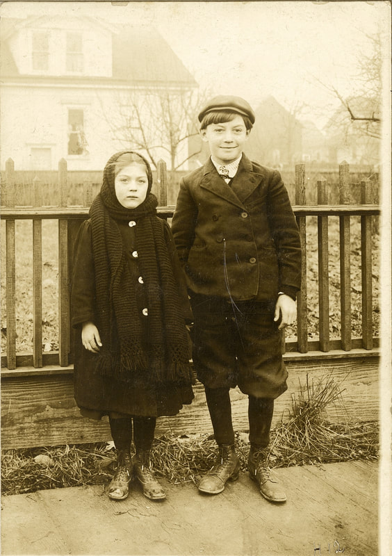 Helen and William Gabel circa 1908 in Portland.