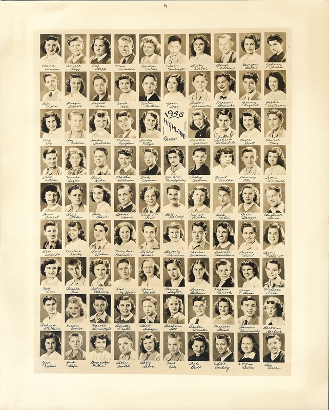 Highland School Class of 1948