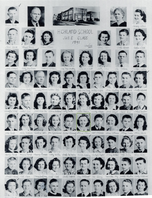 HIghland School Class of June 1941