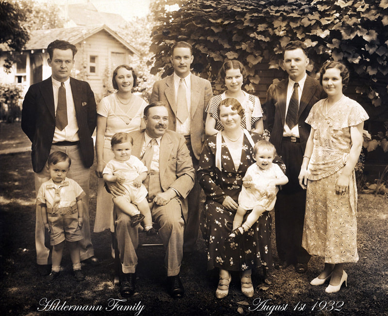 Hildermann family in 1932