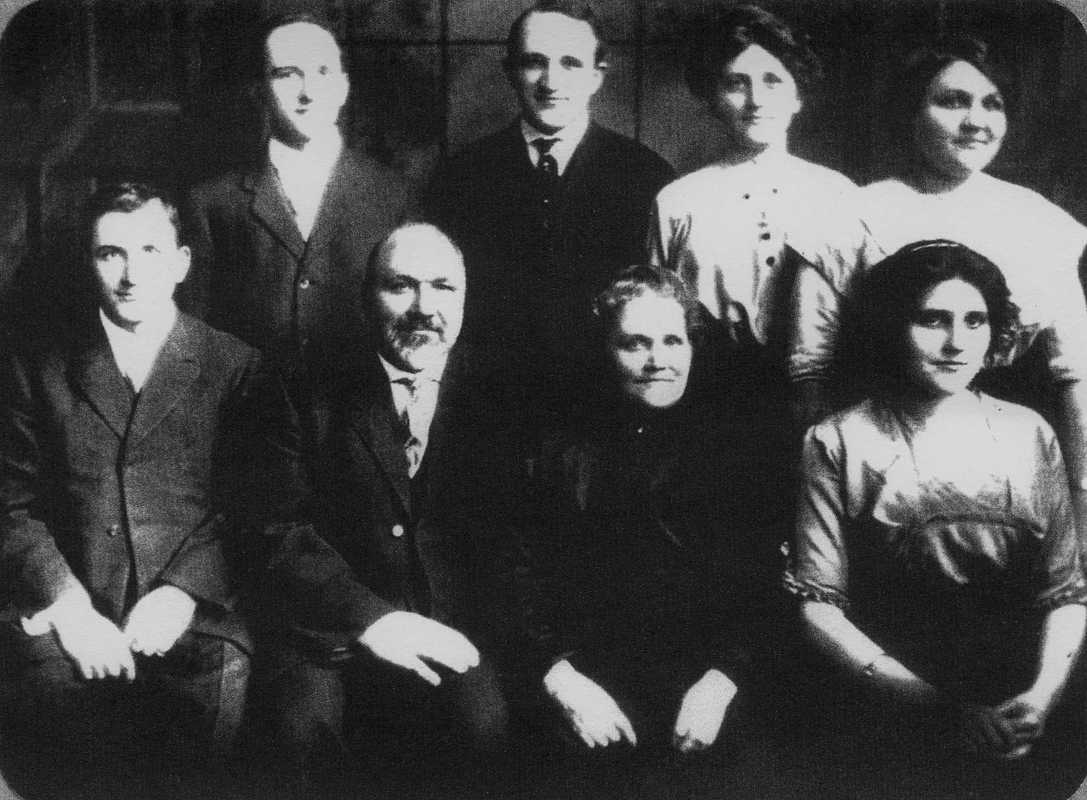 Ludwig and Alice Spady Family