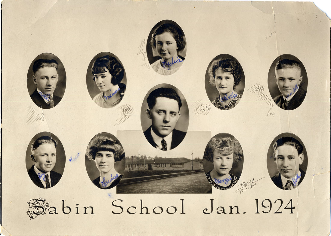 Sabin School Class of January 1924
