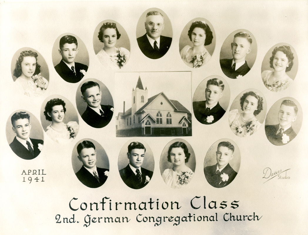 Second German Congregational Church Confirmation Class of 1941