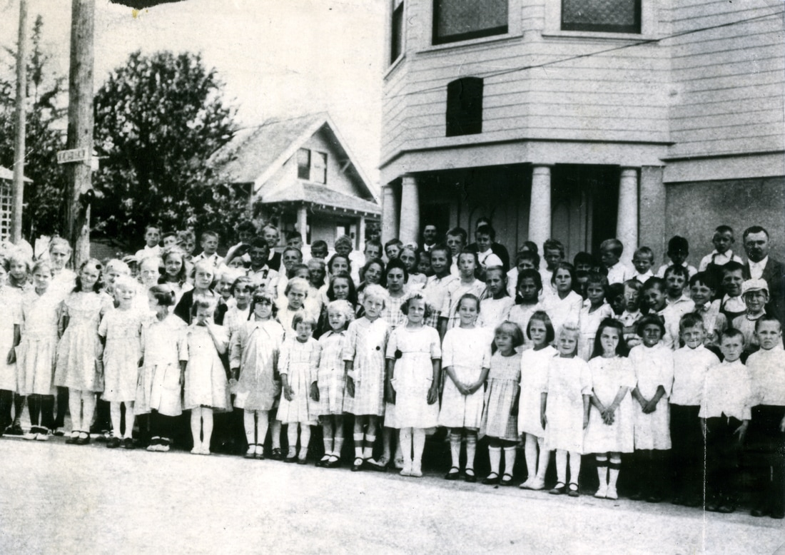 Second German Church 1922 Sunday School Class