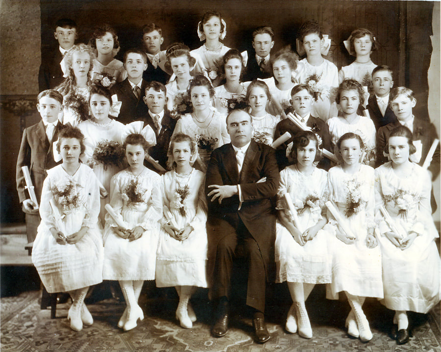 Zion German Congregational Church Confirmation Class of 1919